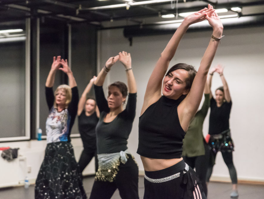 Feel good in your body:        12 januari dansworkshop